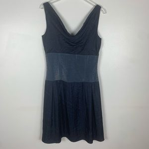 Adrianna Papell gorgeous navy shimmery Dress